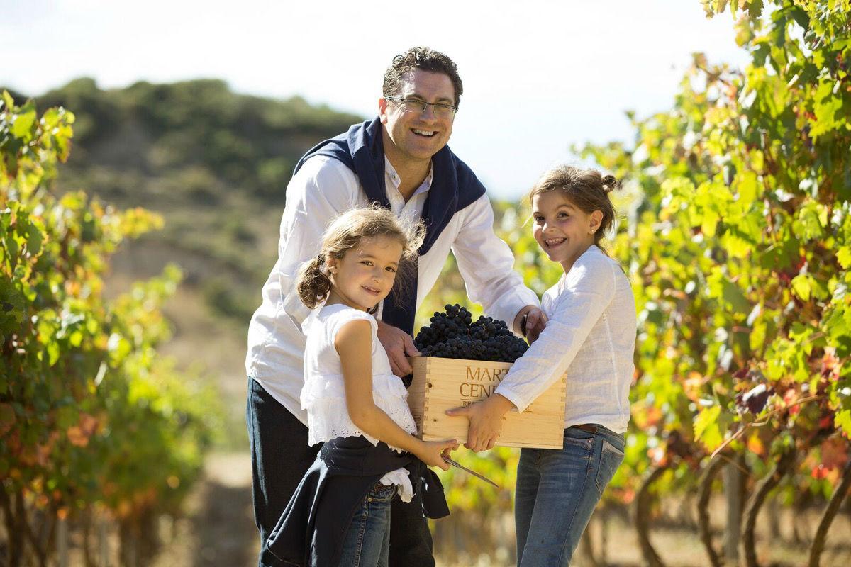 Eguren Ugarte enseñará a hacer vino durante la vendimia