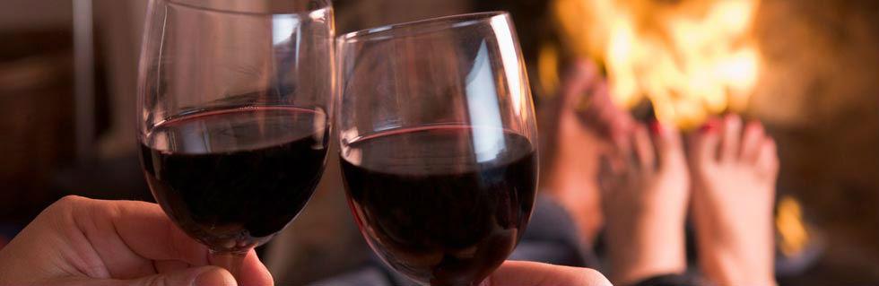 vino chimenea