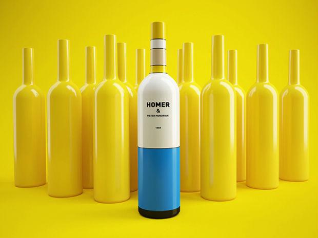 simpsons vino