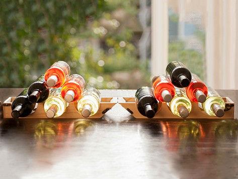 PackRack: caja de vino y botellero, todo en uno.