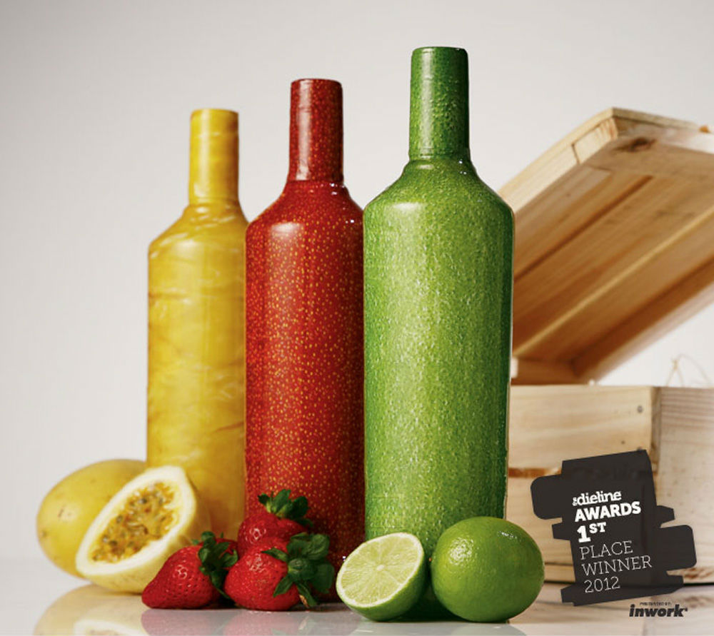 Frutal packaging de Smirnoff