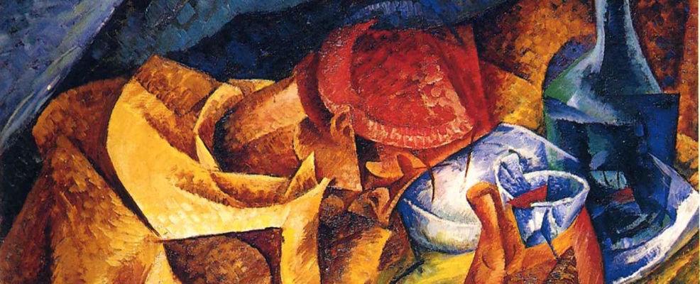 """""""El bebedor"""" (1914), de Umberto Boccioni"""